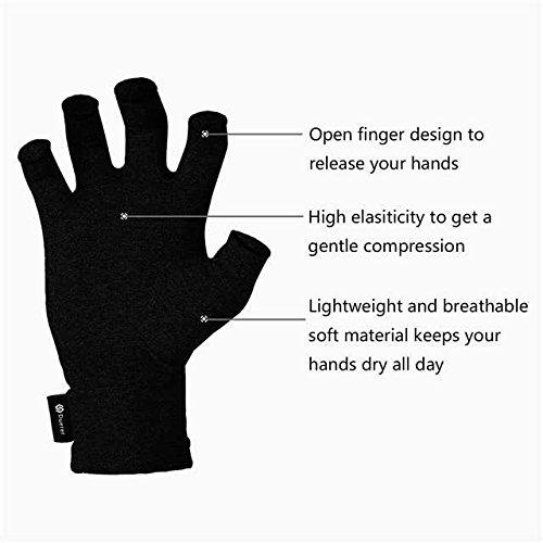 3 3 3 Paare Arthritis Handschuhe von Duerer, Compression Handschuhe f¨¹r RSI, Karpaltunnel, Rheuma, Tendonitis, FingerDaumen, zur Schmerzlinderung (3 Paare (Grau Schwarz Darkschwarz), L) B07BZCVCD3 Handschuhe & Fustlinge Bestseller d4f636