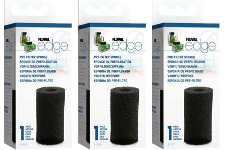 (3 Pack) Fluval Edge Pre-Filter Sponge by Fluval