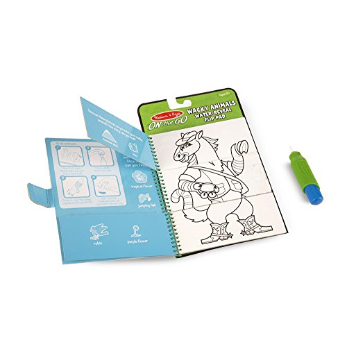 Melissa & Doug On the Go Water Wow! Reusable Water-Reveal Fl