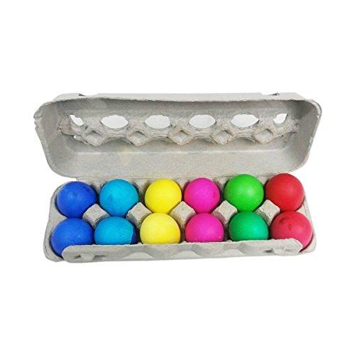 Confetti Eggs Easter (Humpty Dumpty Confetti Eggs Cascarones, 2 Dozen, Bright Colors, Protected by Cardboard Carton)