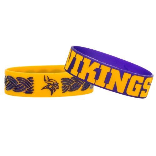(Minnesota Vikings Bulk Bandz Bracelet 2)