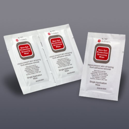 Hollister Skin Cleanser - Units Per Case 600 Skin Gel Protective Barrier Wipes HOLLISTER INC. 7917