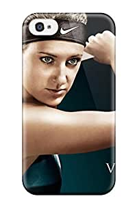 New Premium TMDJtOp6140PISPR Case Cover For Iphone 4/4s/ Victoria Azarenka Pictures Protective Case Cover