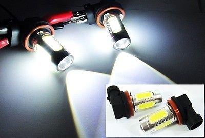 LEDIN 2 H11 H8 CREE Q5 alta potencia proyector 4 Plasma SMD LED ...
