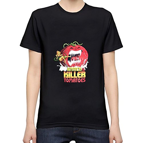 Attack of the Killer Tomatoes Men's T-Shirt XXXL Black