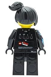 LEGO Kids\' 9009969 LEGO Movie Wyldstyle Mini-Figure Light Up Alarm Clock