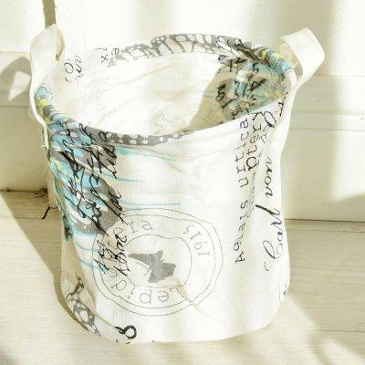 Saint kaiko Niños cestos redondos de plástico para colada (Caja para guardar habitación de los
