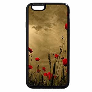 iPhone 6S / iPhone 6 Case (Black) Golden Summer Day