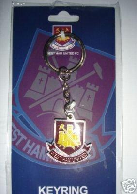West Ham United Fc Metal Keyring