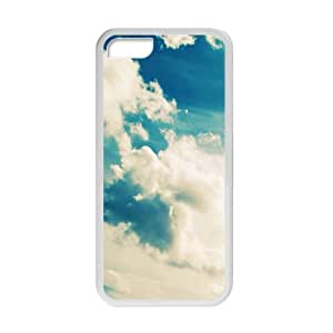 Blue Clouds Sky personalized creative custom protective phone case for iphone 6 plus by icecream design
