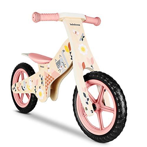🥇 Lalaloom SPRING BIKE – Bicicleta sin pedales de madera para niños de 2 años