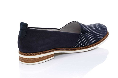 Bleu 14 Chaussures Remonte Femme Lacets Pazifik De Pour À atlantis Ville steel AHHqPC0
