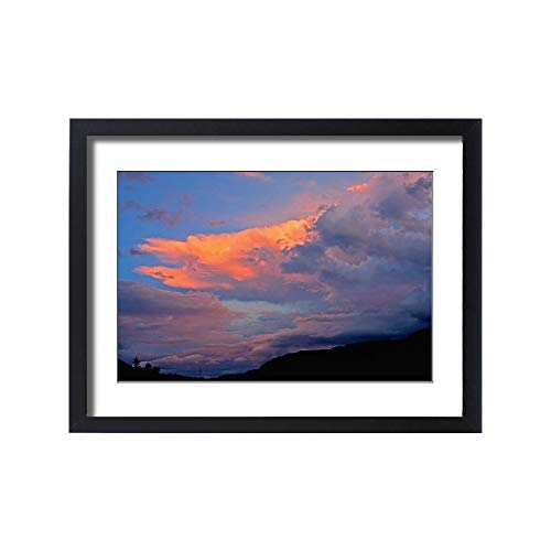 Media Storehouse Framed 24x18 Print of Backlit, Beauty in Nature, Cloud, drakensberg Mountain Range (18249173)