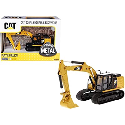 CAT Caterpillar 320F L Hydraulic Tracked Excavator 1/64 Diecast Model by Diecast Masters 85606: Toys & Games