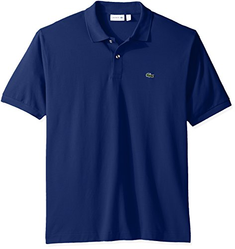 Lacoste Men's Short Sleeve Pique L.12.12 Classic Fit Polo Shirt, Past Season, Methylene, XXL