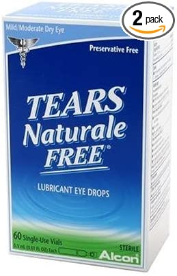 Amazon Com Tears Naturale Free Lubricant Eye Drops 60 Count Health Personal Care