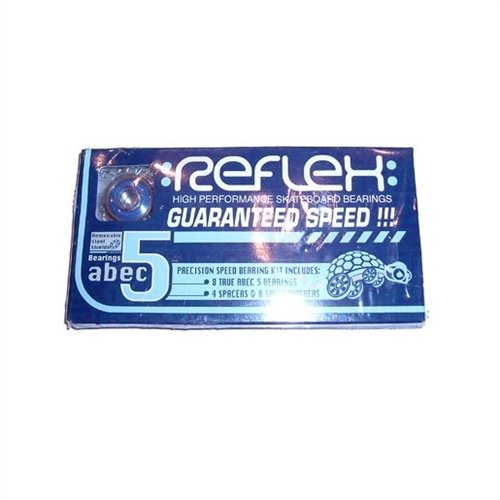 Reflex Abec-5 Bearing 8-Pack Blue Shield (Reflex Abec Bearings)
