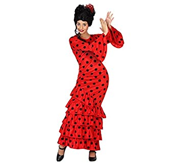 Atosa 28597 - flamenco, rojo, señoras traje, tamaño 34/36 ...