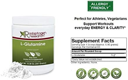 L Glutamine Gastrointestinal Adaptogen Research Pharmaceutical product image