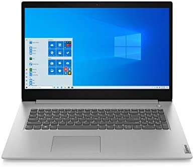 2021 Lenovo IdeaPad 3 17.3″ HD+ LED Backlit Display Laptop, Intel Core i5-1035G1 Processor, 8GB RAM, 256GB SSD, HDMI, WiFi, Bluetooth, Webcam, Windows 10, Platinum Gray, W/ IFT Accessories