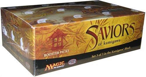 Magic The Gathering Card Game - Saviors Of Kamigawa Booster Box - 36 packs of 15 cards