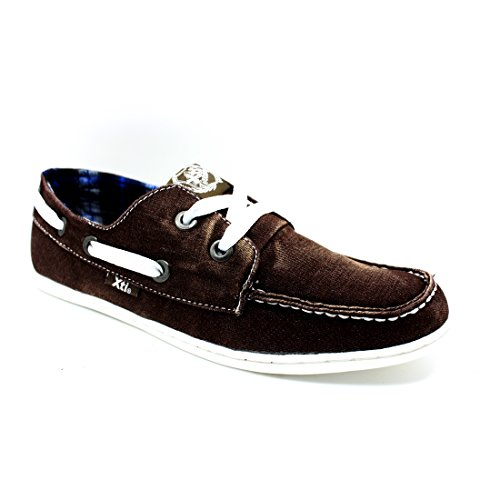 Zapato XTI Caballero combinado en marrón