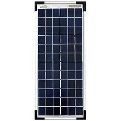 Offgridtec Pannello solare policristallino, 435mm x 185mm x 25 mm, 10 W, 12 V, 3-01-001565