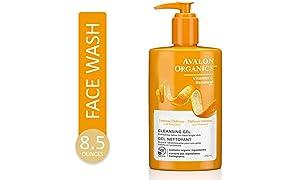 Avalon Organics Intense Defense Cleansing Gel, 8.5 oz.