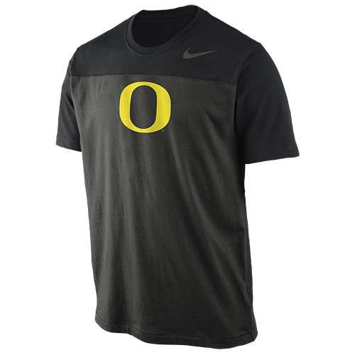 NIKE Oregon Ducks Stealth Logo Shirt - Men - M ()