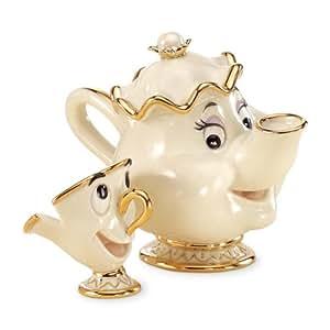 Lenox Disney Showcase Mrs. Potts & Chip
