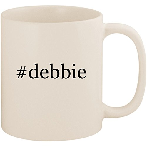 #debbie - 11oz Ceramic Coffee Mug Cup, White