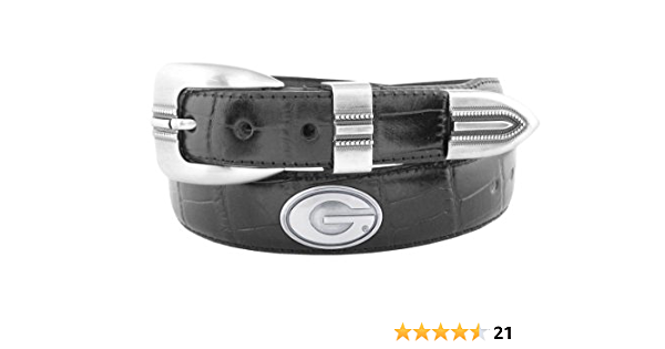 Zeppelin Products Inc NCAA Oklahoma Sooners Tip Leather Concho Belt