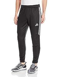 Adidas Men's Soccer Tiro 17 Pants, Medium, Blackwhitewhite
