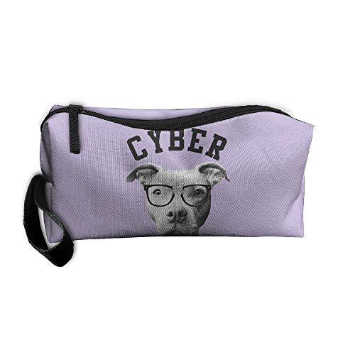 Coin Pouch Cyber Bully Pit Bully Pen Holder Clutch Wristlet Wallets Purse Portable Storage Case Cosmetic Bags (Cyber Coins)