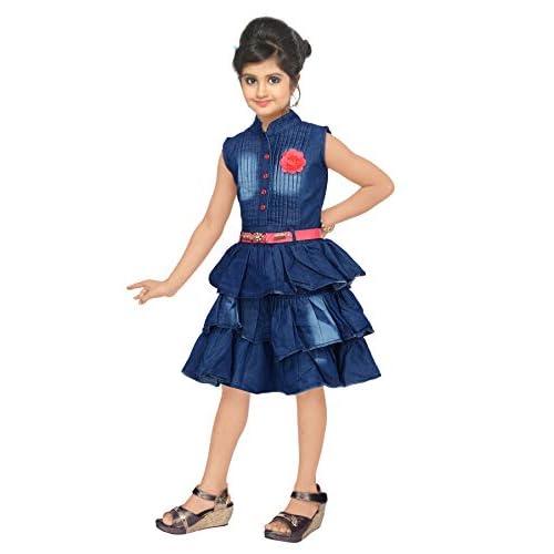41AN3cOiu2L. SS500  - 4 YOU Denim Cotton Dress