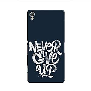 Cover It Up - Never Give Up Xperia Z2 Hard Case