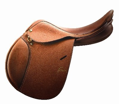 (Pessoa A/O Junior Leather Saddle 15.75 Reg Flap)