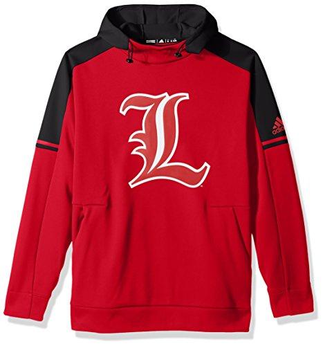 NCAA Louisville Cardinals Adult Men NCAA Sideline Player Hood, Large, Power Red