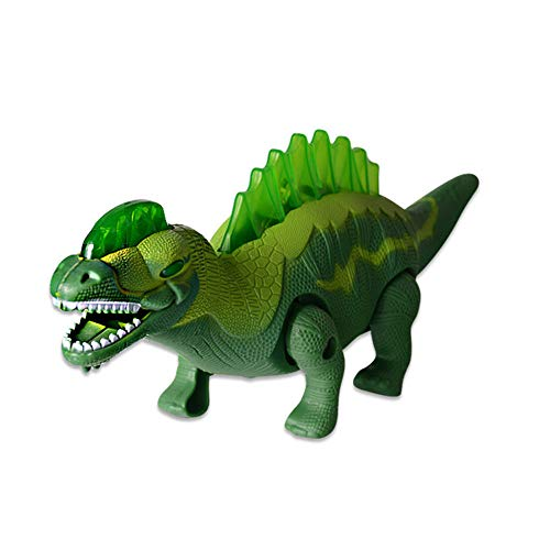 Alimao 2019 New Kids Toy Walking T-Rex Dinosaur Toy Figure with Lights & Sounds Real Movement