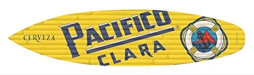 WoodenSign 15x61cm, Pacifico Clara Surfboard cb653927 for sale  Delivered anywhere in USA