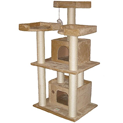 GoPetClub 51-inch Cat Tree Condo