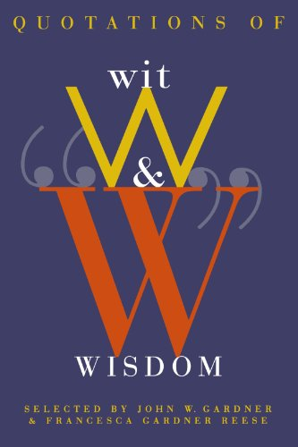 Quotations of Wit and Wisdom by W. W. Norton & Company