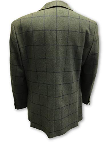 in in Green G Wool 44R 44R Connolly Size Jacket EqFHU