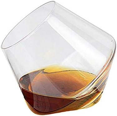 Genlesh - Juego de 6 Copas de Vino de 400 ml, Vasos de Whisky ...