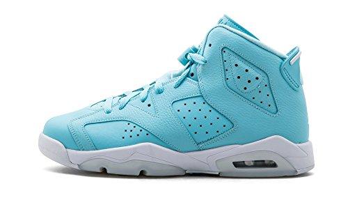 Jordan Nike Kids Air 6 Retro GG Basketball Shoe 6.5 Blue (Jordan Women 6 Retro)
