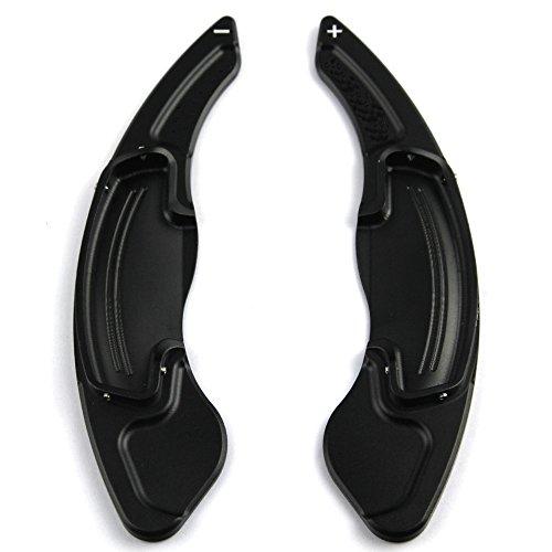 CITALL 1Pair Aluminum DSG Paddle Shifter Extensions Trim Fit For Honda Accord 2013-2018 black