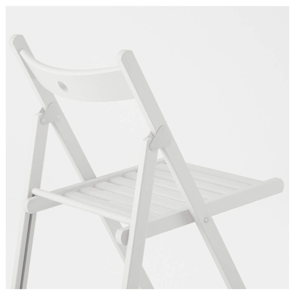 IKEA Asie Terje Chaise Pliante Blanc Mobilier scolaire Chaises et