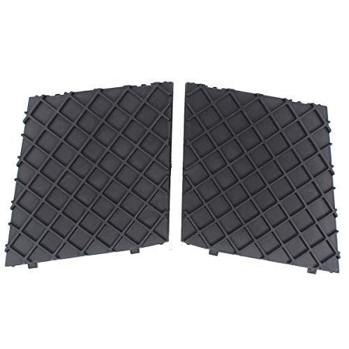 (NewYall Pair of Front Bumper Cover Lower Mesh Grill Trim Exterior Accessory )