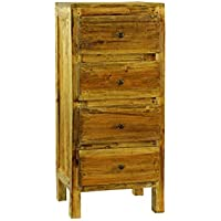 Antique Revival Lucia Rustic Dresser, Natural