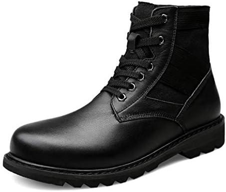 ウィンターブーツマーティンブーツメンズ デザートブーツ 作業靴 裏起毛 ブーツ おしゃれ ブーツ 防水 ハイカット革靴 カジュアルシューズ 砂漠靴 耐磨耗 アウトドア暖かい ショートブーツ ワークブーツ